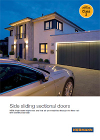 Hormann Side Sliding Sectional Garage Doors